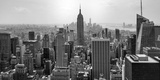 Aerial View of Cityscape, New York City, New York State, USA Fotografie-Druck