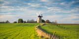 Windmill in Great Haseley in Oxfordshire, England, United Kingdom, Europe Fotoprint van John Alexander