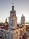 Nuestra Senora De La Asuncion Cathedral at Parque Cespedes, Santiago De Cuba, Cuba Photographic Print by Yadid Levy