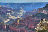 From Bright Angel Point, North Rim, Grand Canyon National Park, UNESCO World Heritage Site, Arizona Impressão fotográfica por Richard Maschmeyer