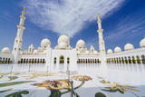 Sheikh Zayed Mosque, Abu Dhabi, United Arab Emirates, Middle East Photographic Print by Fraser Hall