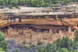 Anasazi Ruins, Cliff Palace, Dating from Between 600 Ad and 1300 Ad Photographic Print by Richard Maschmeyer