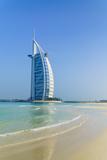 Burj Al Arab Hotel, Iconic Dubai Landmark, Jumeirah Beach, Dubai, United Arab Emirates, Middle East Photographic Print by Fraser Hall