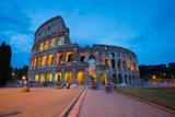The Colosseum, UNESCO World Heritage Site, Rome, Lazio, Italy, Europe Fotografisk trykk av Frank Fell