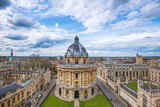 Radcliffe Camera and the View of Oxford from St. Mary's Church, Oxford, Oxfordshire Fotoprint van John Alexander