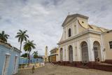 Plaza Mayor with the Iglesia Parroquial De La Santisima Trinidad and the Museo Nacional De La Lucha Photographic Print by Yadid Levy