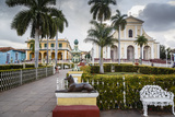 Plaza Mayor, Trinidad, UNESCO World Heritage Site, Sancti Spiritus Province, Cuba Photographic Print by Yadid Levy