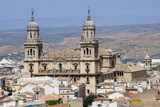 West Face of the Cathedral, Jaen, Andalucia, Spain, Europe Reproduction photographique par Charles Bowman