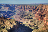 Colorado River Below, South Rim, Grand Canyon National Park, UNESCO World Heritage Site, Arizona Photographic Print by Richard Maschmeyer