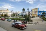 Parque Serafin Sanchez Square, Sancti Spiritus, Cuba, West Indies, Caribbean, Central America Photographic Print by Yadid Levy