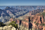 From Bright Angel Point, North Rim, Grand Canyon National Park, UNESCO World Heritage Site, Arizona Photographic Print by Richard Maschmeyer