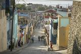 Street Scene at the Tivoli Neighborhood, Santiago De Cuba, Cuba, West Indies, Caribbean Photographic Print by Yadid Levy