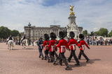 Changing the Guard at Buckingham Palace, New Guard Marching Photographic Print by Eleanor Scriven