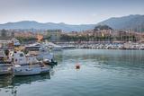 Harbour, Sanremo (San Remo), Liguria, Italy, Europe Fotografisk trykk av Frank Fell
