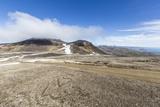 A View Inside the Stratovolcano Crater Snaefellsjokull, Snaefellsnes National Park Fotografisk trykk av Michael Nolan