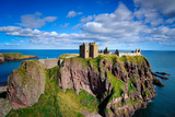 Dunnottar Castle Outside of Stonehaven, Aberdeenshire, Scotland, United Kingdom, Europe Photographic Print by Jim Nix