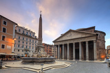 View of Old Pantheon Photographic Print by Roberto Moiola