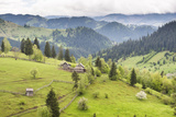 Hilly Rural Landscape of the Bukovina Region at Sadova, Romania, Europe Photographic Print by Matthew Williams-Ellis