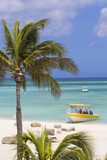 Palm Beach, Aruba, Netherlands Antilles, Caribbean, Central America Fotoprint av Jane Sweeney