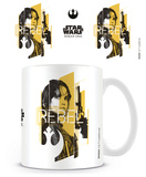 Star Wars Rogue One - Jyn Rebel Mug Taza