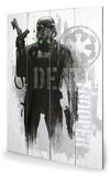 Star Wars Rogue One - Death Trooper Grunge Treskilt