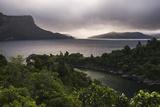 Lake Waikaremoana, Te Urewera, Eastland, North Island, New Zealand, Pacific Fotografisk trykk av Matthew Williams-Ellis