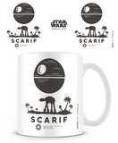 Star Wars Rogue One - SCARIF Symbol Mug Taza