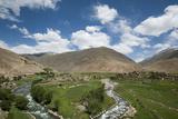 The Panjshir Valley, Afghanistan, Asia Fotografie-Druck von Alex Treadway