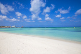 Palm Beach, Aruba, Lesser Antilles, Netherlands Antilles, Caribbean, Central America Fotoprint av Jane Sweeney