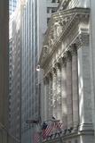 New York Stock Exchange, Wall Street, New York City, New York, Usa Foto von Natalie Tepper
