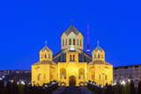 Eurasia, Caucasus Region, Armenia, Yerevan, St Gregory Cathedral Photographic Print by Christian Kober