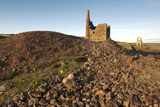 Old Tin Mine Workings, Botallack, Pendeen,Cornwall, England Photographic Print by Paul Harris