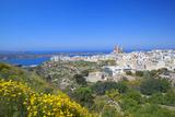 Europe, Maltese Islands, Malta. the Village of Melllieha Overlooking the Sea. Photographic Print by Ken Scicluna
