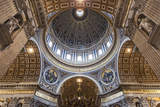 Architectural Detail of the Interior of St. Peter's Basilica, Vatican City, the Vatican. Photographic Print by Cahir Davitt