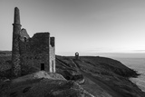 Old Tin Mine Workings, Botallack, Pendeen,Cornwall, England Fotografisk tryk af Paul Harris