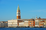Europe, Italy, Veneto, Venice, Campanile Di San Marco Fotoprint av Christian Kober