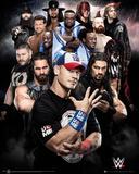 WWE- New & Legendary Superstars Poster