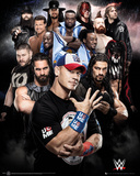 WWE- New & Legendary Superstars Prints