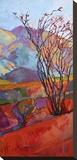 Ocotillo Triptych (left) Stretched Canvas Print by Erin Hanson