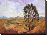 Summer Eucalyptus Stampa su tela di Erin Hanson