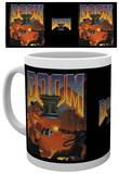 Doom 2 - Game Cover Mug Tazza