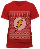 The Flash- Holiday Knit Logo T-Shirt