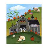 Pumpkins 4 Sale Cheryl Bartley Giclée-Druck von Cheryl Bartley