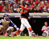 Francisco Lindor Home Run Game 1 of the 2016 American League Championship Series Photo