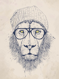 Cool Lion Reproduction procédé giclée par Balazs Solti