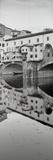 Ponte Vecchio I Valokuvavedos tekijänä Alan Blaustein