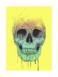 Pop Art Skull Giclee Print by Balazs Solti