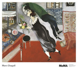El cumpleaños Láminas por Marc Chagall