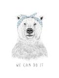 We Can Do It Giclée-Druck von Balazs Solti