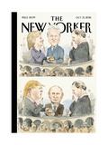 The New Yorker Cover - October 31, 2016 Reproduction procédé giclée par Barry Blitt
